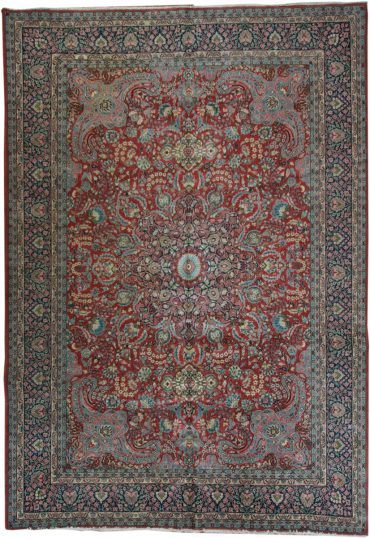 Antique Anatolia Herike 8 x 14 in Red