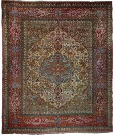 Antique Anatolia Sivas 9 x 12 in Red