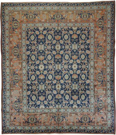 Antique Anatolia Sivaz 8 x 10 in Orange/Blue