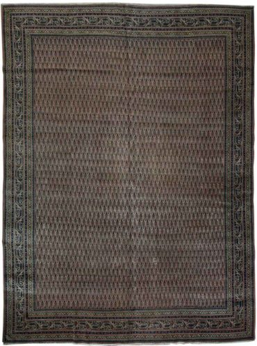 Antique Persia Saraband 9 x 11 in Brown/Earth Tone2