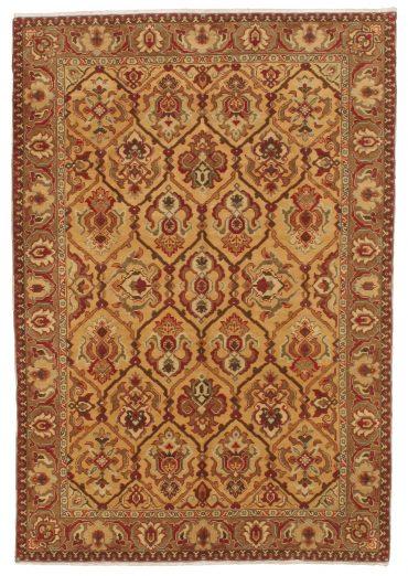 Armenian Caucasian 6×9 in Wheat/Tobacco