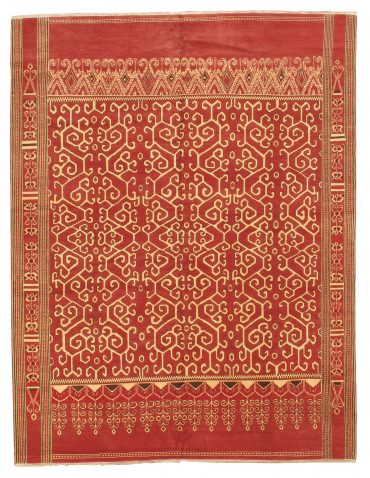 Lotto Armenian 9 x 11 in Red/Ivory