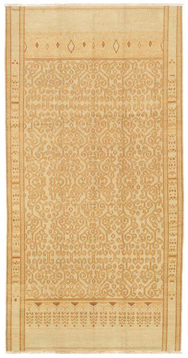 Lotto Armenian 6 x 11 in Ivory/Yellow35990