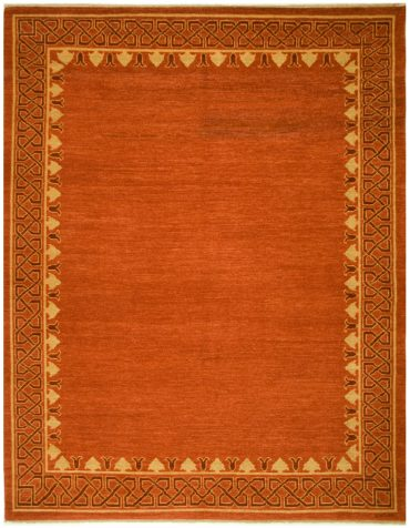 Armenian Modern 8×10 in Red/Maroon/Wheat