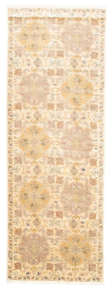 Romanian Sultanabad 5×14 in Ivory/Ivory