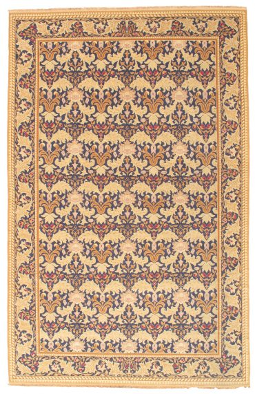 Romanian Sultanabad 11×18 in Navy/Taupe