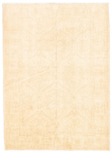 Pakistan Mahal Rug 5×7 in Beige/Light Brown