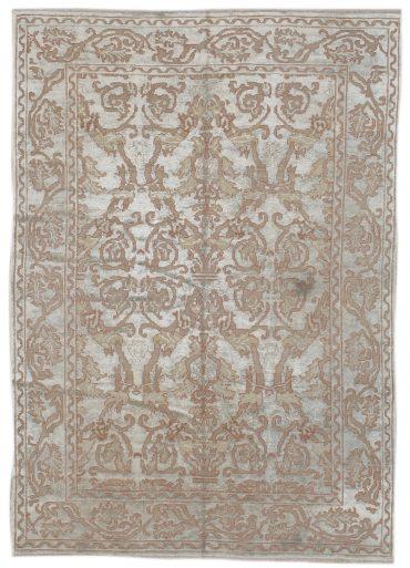 Anatolia Silcose 6×9 in Silver/Taupe
