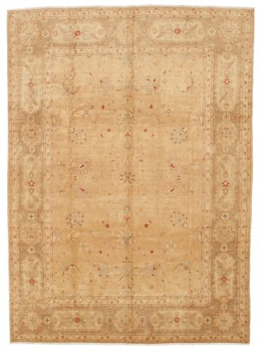 Pakistan Tabriz Rug 10×13 in Wheat/Caramel